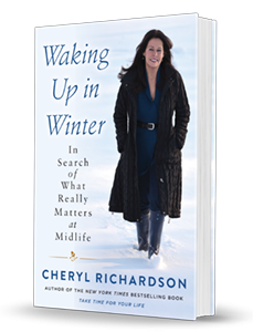 Cheryl Richardson's book, Waking Up In Winter